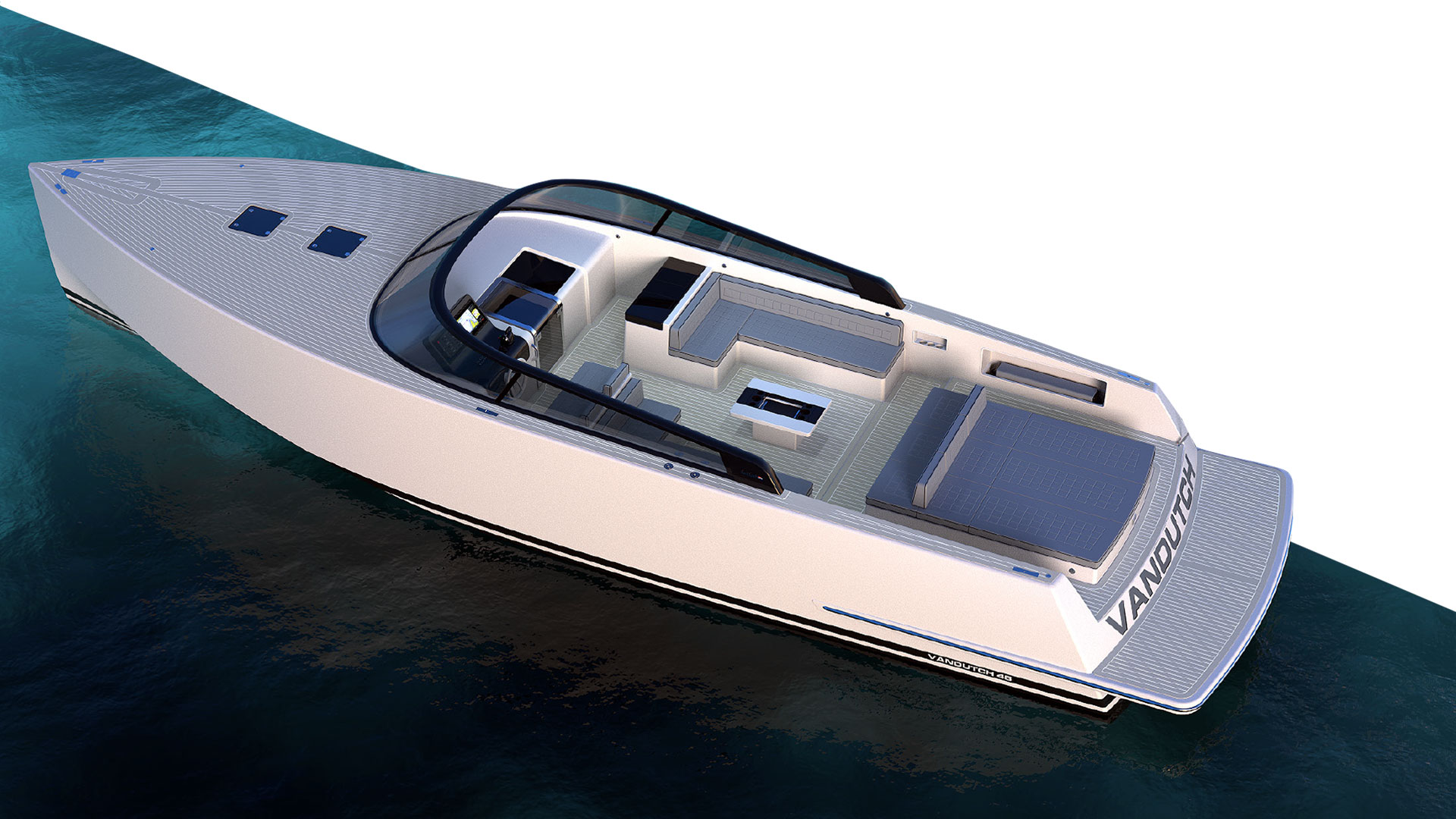 VanDutch 48 Exterior Features