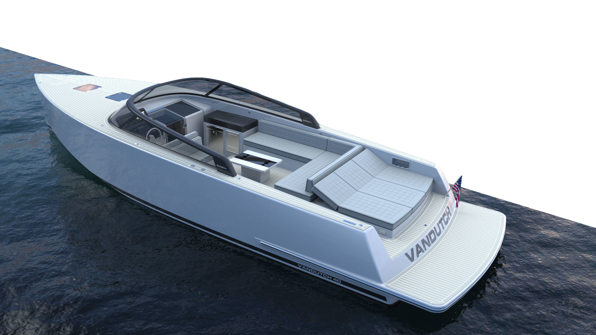 VanDutch 40.2 Exterior Features