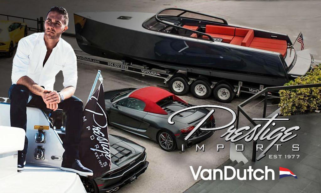 VanDutch opens VanDutch Miami alongside Brett David and Prestige Marine.