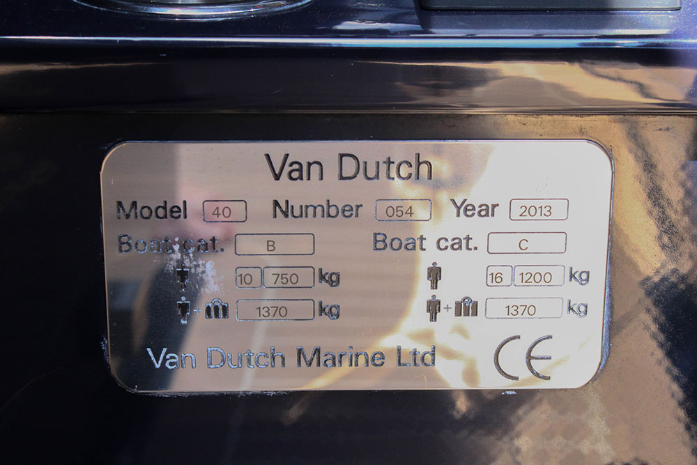 VanDutch 40.2 2013 Preowned
