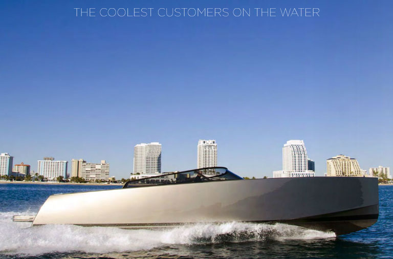 The Coolest Customers On The Water